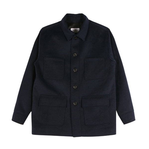 Pocket Half Coat_OL047